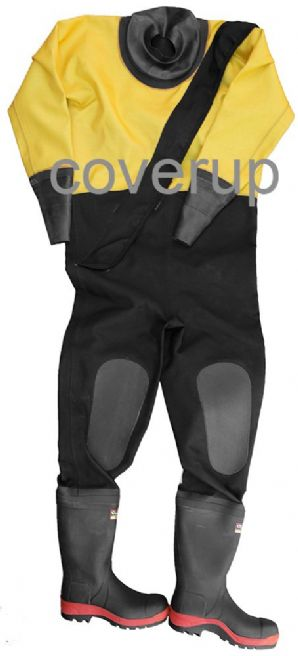 HUNTER SURFACE/RESCUE DRYSUIT WITH SAFETY WELLINGTONS